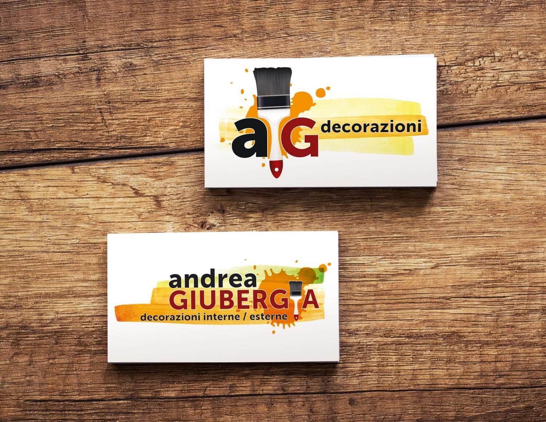 Ideazione Logo Andrea Giubergia imbianchino