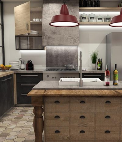 Rendering 3D Cuneo Cucina MG Production Fossano